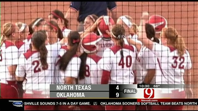 OU Softball Highlights vs. North Texas