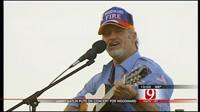Country Music Star Larry Gatlin Hosts Concert In Woodward
