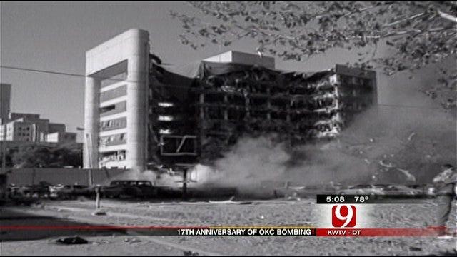 17th Anniversary Of OKC Bombing Tomorrow