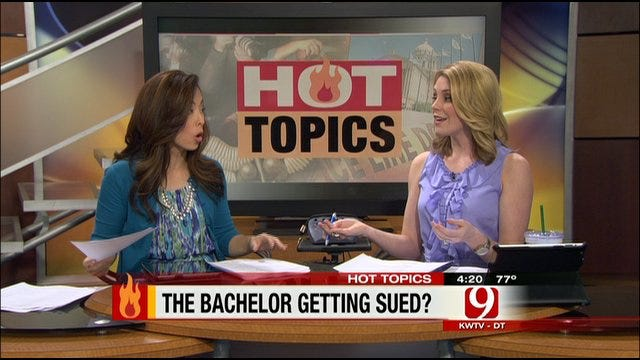 Hot Topics: Bachelor Being Sued