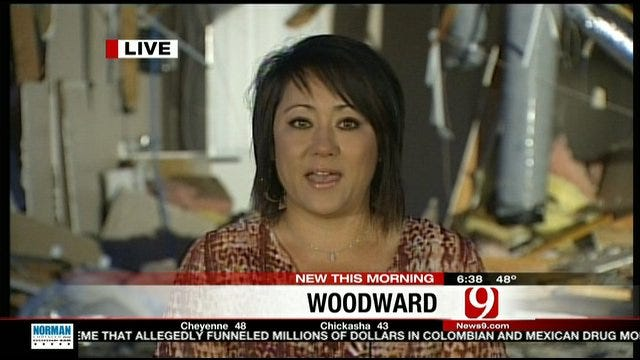 Woodward Woman Survives Tornado Thanks To Phone Call