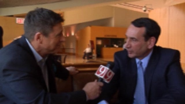 Dean Blevins One-On-One With Mike Krzyzewski