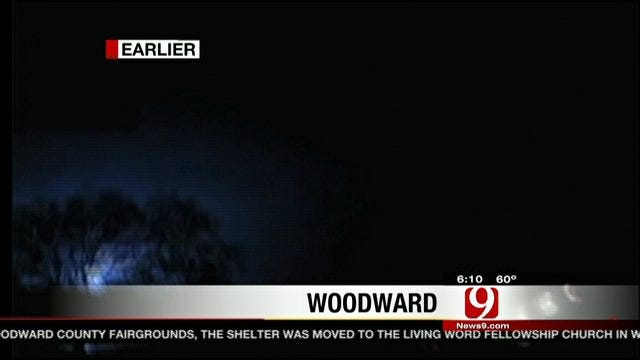 Storm Tracker Marty Logan Tracking Tornado In Woodward