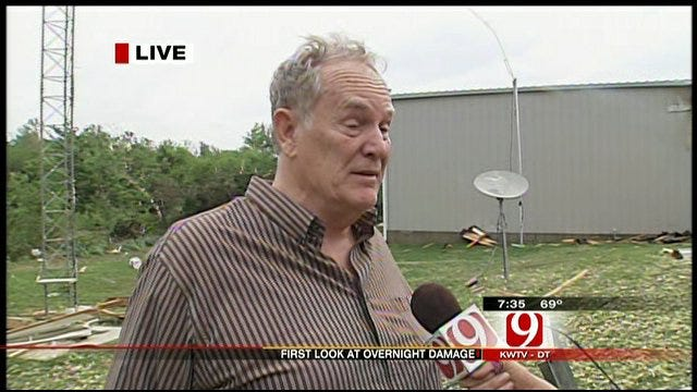 News 9 Speaks To Owner Of House Damaged By Storms