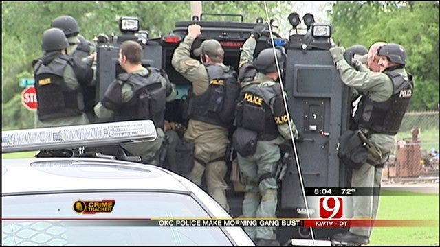 Major Gang Sweep In OKC And Surrounding Areas