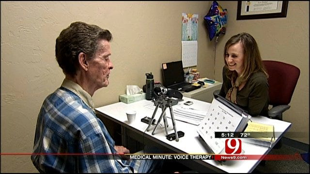 Medical Minute: Voice Therapy Results