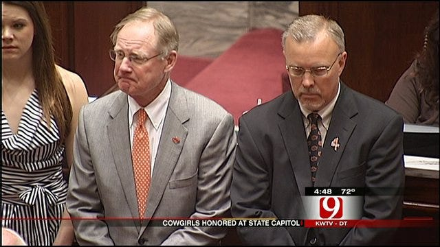 Cowgirls Honored At State Capitol