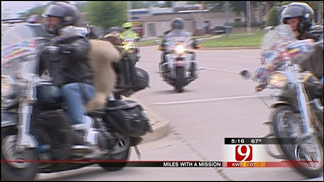'Miles With A Mission' Motorcycle Group Returns Home