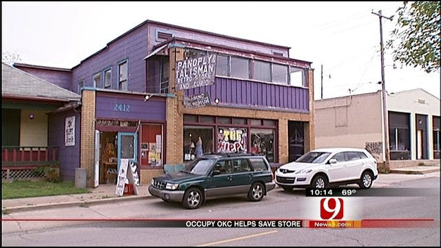 Occupy OKC Raises Money To Save Hippy Store