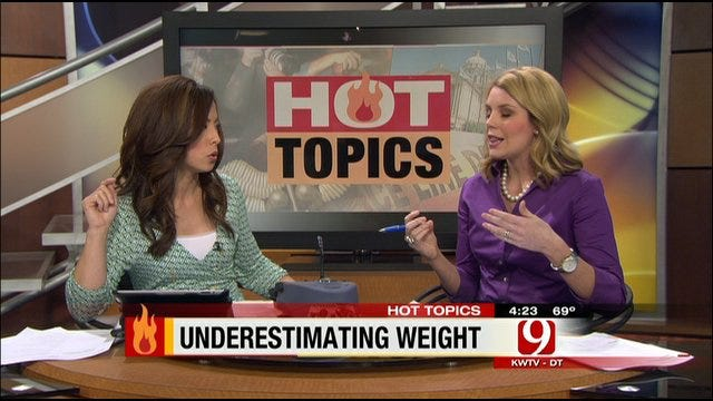 Hot Topics: Underestimating Our Weight