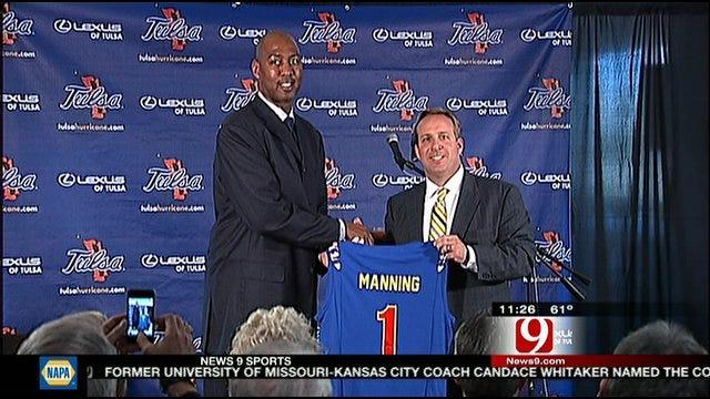 Tulsa Coach Danny Manning: First Impressions
