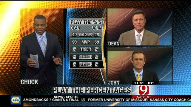 Play the Percentages: April 8, 2012