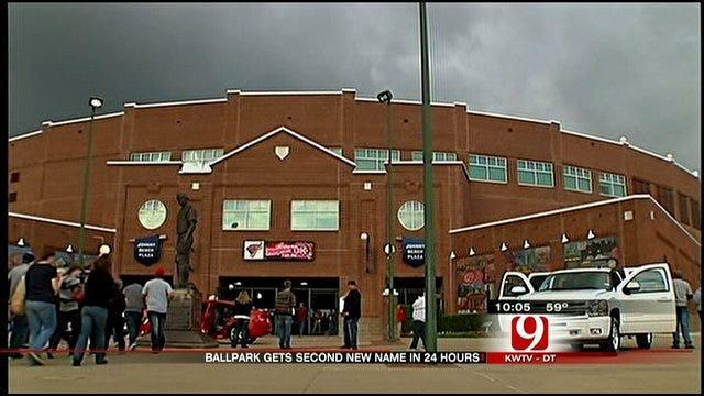 New, New Name Unveiled For OKC's Bricktown Ballpark