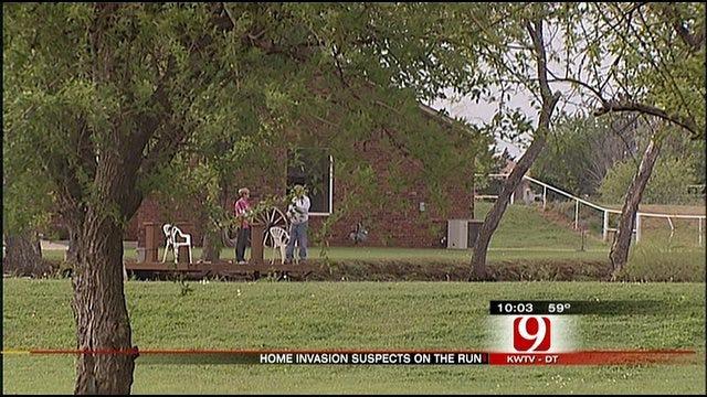 Woman Scares Burglars Away With Plunger