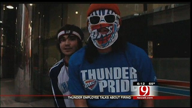 Thunder Employee Fired Over Rap Video Talks To News 9