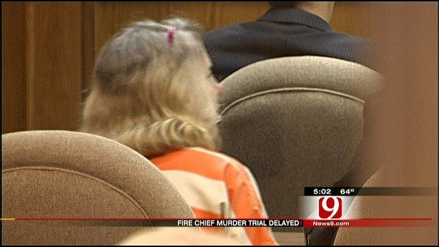 Trial Date Uncertain For Wife of Slain Nichols Hills Fire Chief