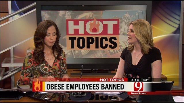 Hot Topics: Texas Hospital Bans Obese Employees