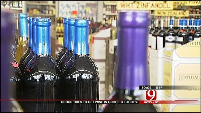Petition For Wine Sales At Oklahoma Grocery Stores Raises Concerns