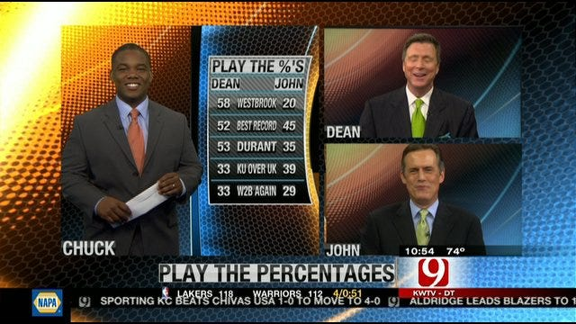Play the Percentages: April 1, 2012