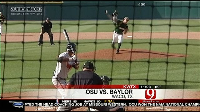 Oklahoma State Unable To Top Baylor