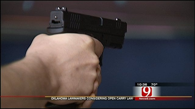 Gun Advocates Debate Language Of Proposed Open-Carry Law