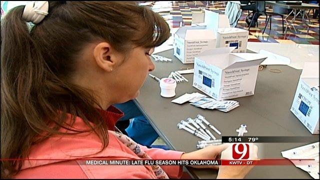 Medical Minute: Late Flu Season Hits Oklahoma