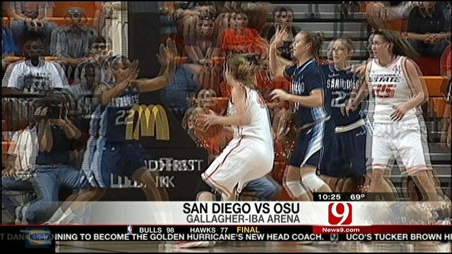 Oklahoma State Takes Down San Diego In WNIT Semifinals