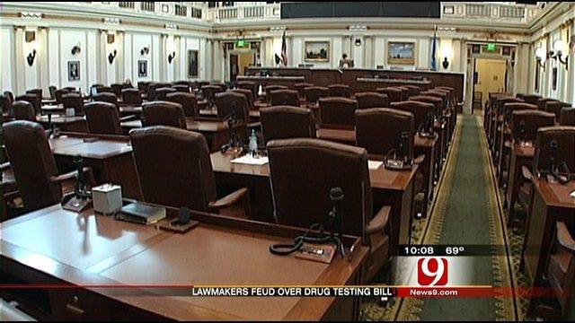 Lawmakers Feud Over Drug Testing Elected Officials Amendment
