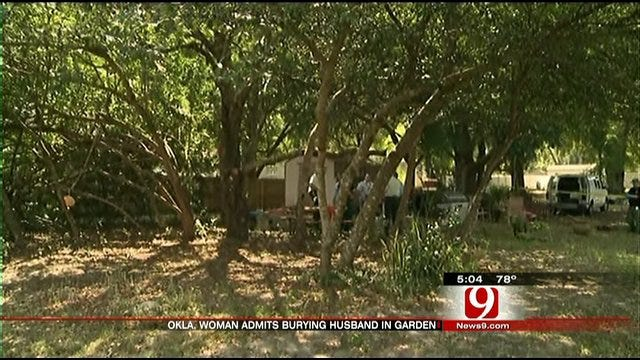 Florida Woman Admits She Buried Oklahoma Husband In Backyard