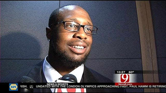 Former Sooner Gerald McCoy Back In OKC For Charity Work