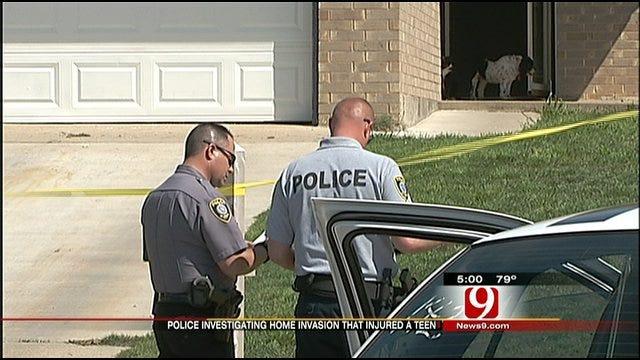 OKC Police: Teenager Shot During Home Break-In