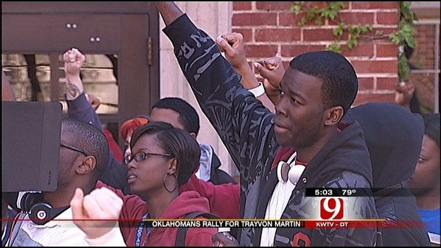 OU Students Gather To Seek Justice For Trayvon Martin