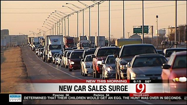 Car Sales Surging In Oklahoma
