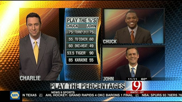 Play The Percentages: March 25, 2012