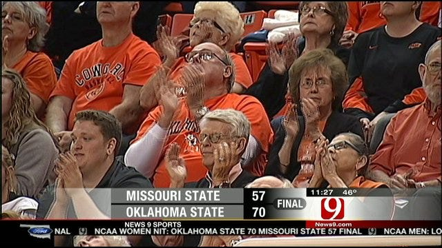 Oklahoma State Drops Missouri State In WNIT