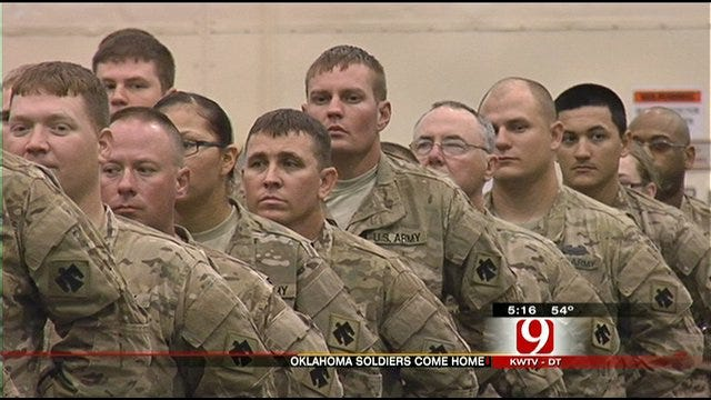 More 45th Soldiers Return Home