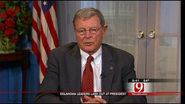 State Leaders React To Obama's Cushing Visit