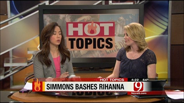 Hot topics: KISS Bashes Rihanna