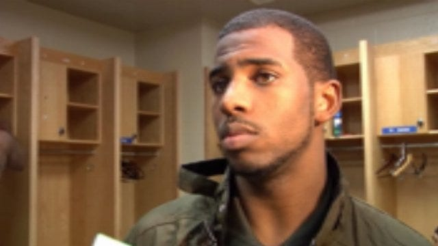 Chris Paul Post Game Interview