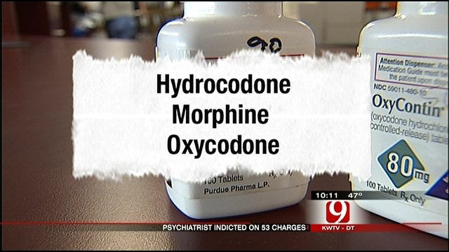 OKC Psychiatrist Accused Of Contributing To Deaths By Illegally Dispensing Drugs