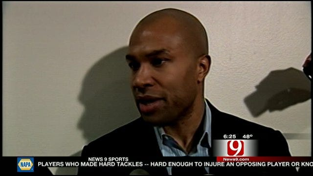 Derek Fisher Talks About Signing With The Thunder