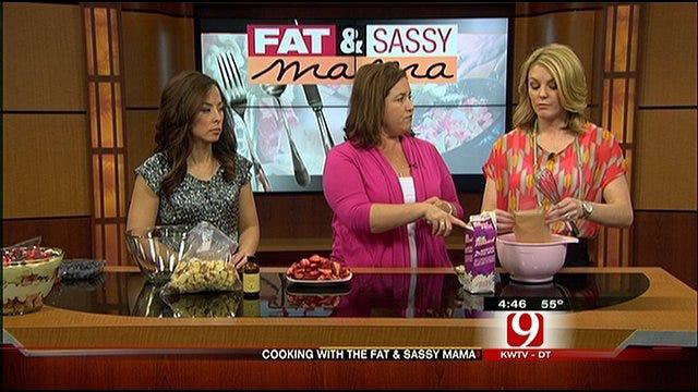 Fat And Sassy Mama: Vanilla Berry Trifle