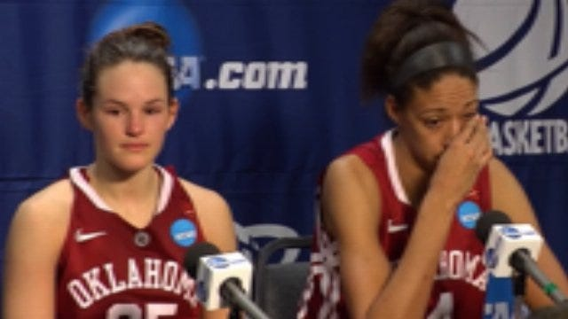 Oklahoma Players After The Loss To St. John's