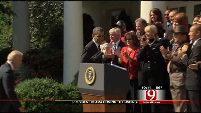 President Obama To Address Keystone Pipeline Issues In Cushing