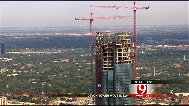 Devon Employees Begin Moving Into Devon Tower In Downtown OKC