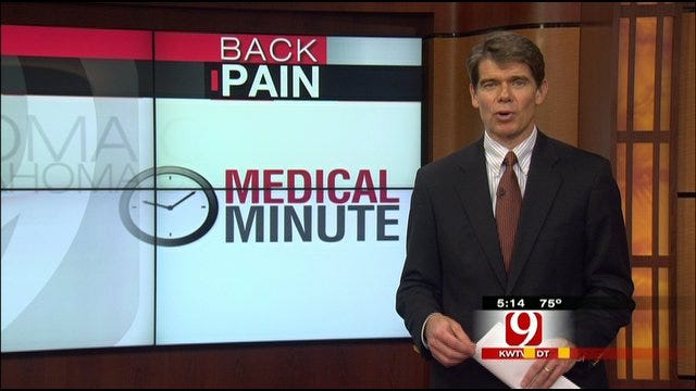 Medical Minute: Back Pain