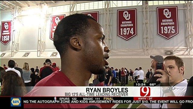 OU Pro Day: Ryan Broyles Update