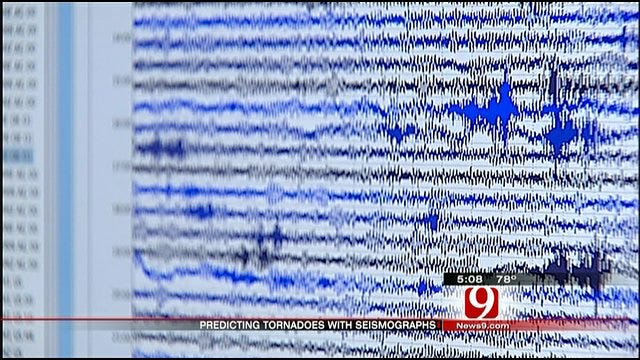 Researchers Use Seismographs To Predict Tornado