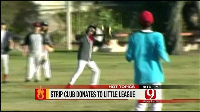Hot Topics: Strip Club In California Offers Financial Support For Little League
