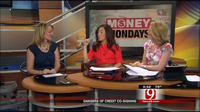 Money Monday: Dangers Of Credit Co-Signing